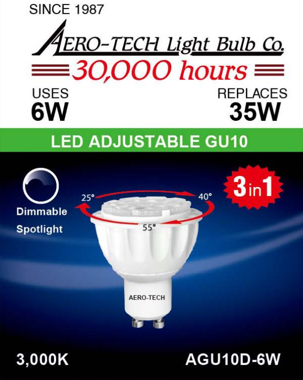 6W LED Light Bulb