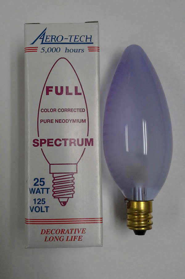 Full Spectrum Chandelier Light Bulb