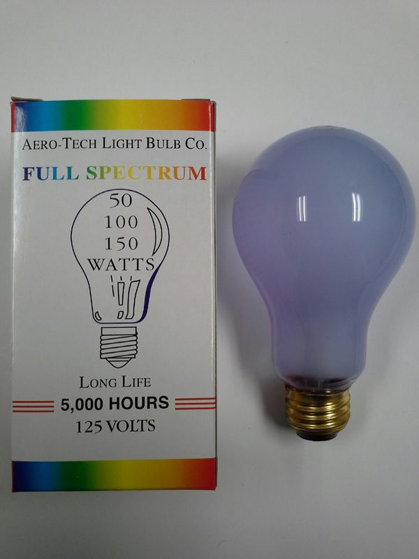 Neodymium Full Spectrum Light Bulb